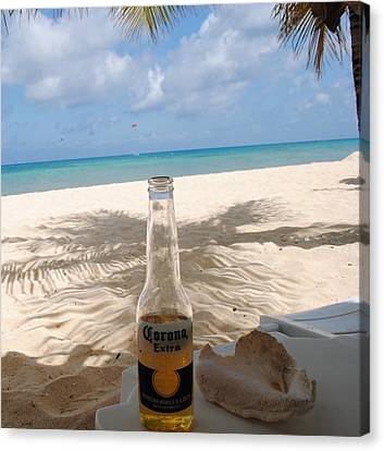 Corona Beach Day Canvas Print