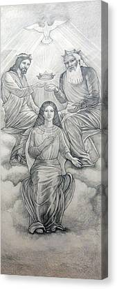 Coronation Version 2 Canvas Print by Patrick RANKIN