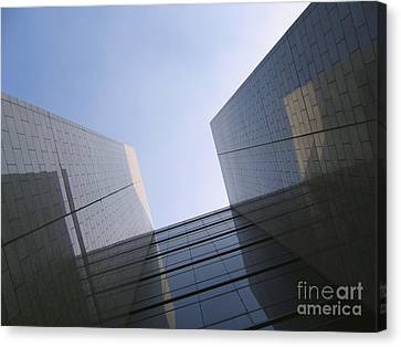 Corporate Architecture Canvas Print by Yali Shi