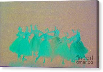 Corps De Ballet II Canvas Print