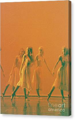 Corps De Ballet Canvas Print