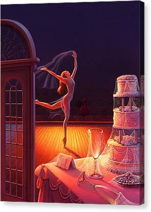 Corpse De Ballet Canvas Print by Robin Moline