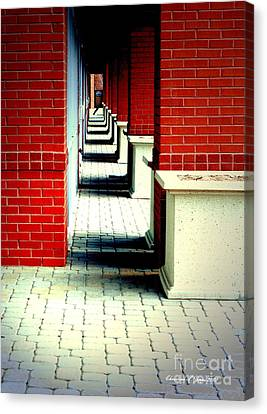 Corridor Canvas Print