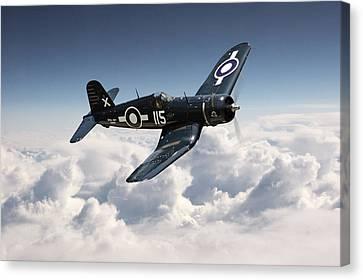Corsair F4u - Royal Navy Canvas Print