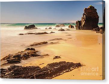 Corunna Point Beach Canvas Print by Werner Padarin
