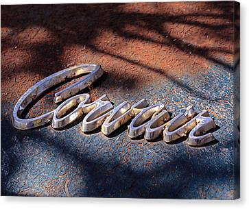 Corvair Emblem Canvas Print by Christopher McKenzie