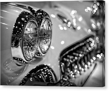 Corvette Bokeh Canvas Print by Gordon Dean II
