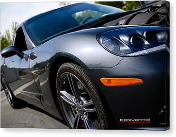Corvette Racing Canvas Print by Shane Kelly