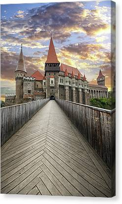 Corvin Castle Canvas Print