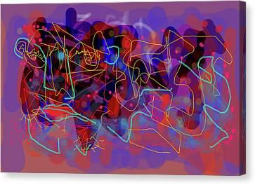Cosmic Beast Canvas Print