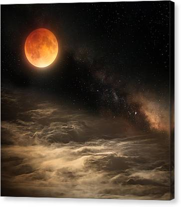 Cosmic Clouds Canvas Print by Bill Wakeley