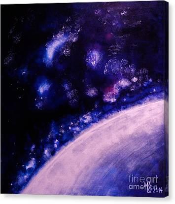 Cosmic Dance Canvas Print by Mario Lorenz