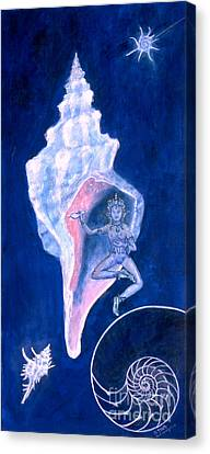 Cosmic Dancer Canvas Print by Doris Blessington