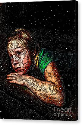 Cosmic Dust Canvas Print by Ron Bissett