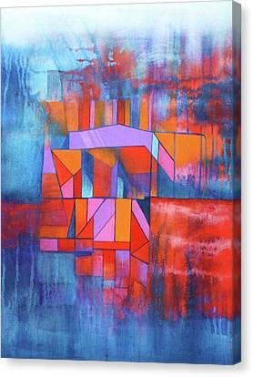 Cosmic Garage Canvas Print by J W Kelly