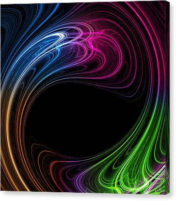 Canvas Print featuring the photograph Cosmic Maelstrom by Mark Blauhoefer
