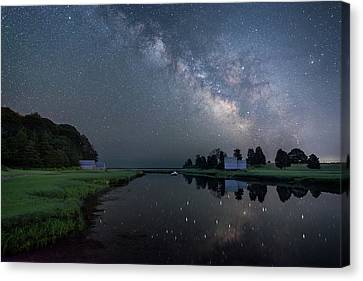 Cosmic Reflection Canvas Print
