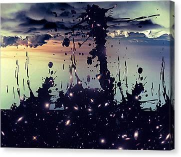 Cosmic Resoance No 3 Canvas Print