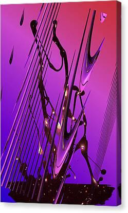 Cosmic Resonance No 6 Canvas Print