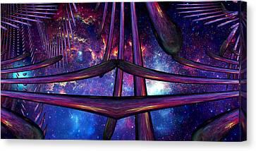 Cosmic Resonance No 7 Canvas Print