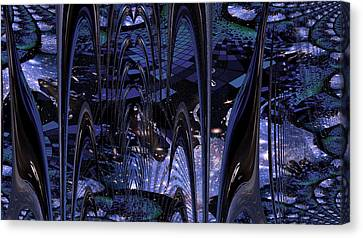 Cosmic Resonance No 8 Canvas Print