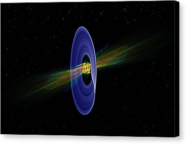 Cosmic Ring Canvas Print by Pelo Blanco Photo