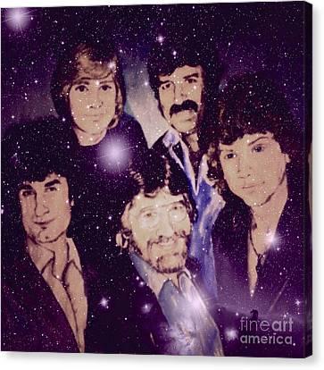 Cosmic Rockers Canvas Print