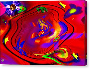 Cosmic Soup Canvas Print by Bill Cannon