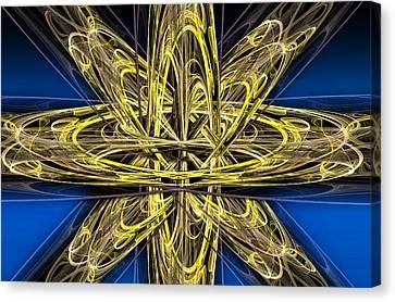 Cosmic Star Center Canvas Print by Pelo Blanco Photo