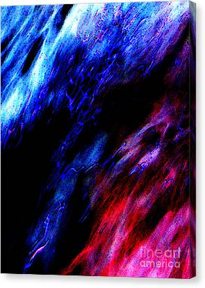 Cosmic Storm Canvas Print by Terril Heilman