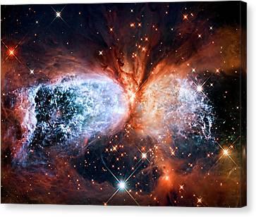Cosmic Vortex At S106 Canvas Print by Weston Westmoreland