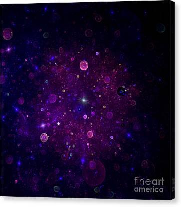 Colorful Sky Canvas Print - Cosmic Wonders by Steve K