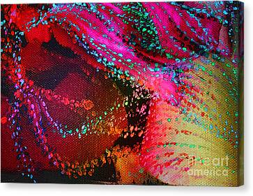 Cosmogenesis Canvas Print by Jeanette French