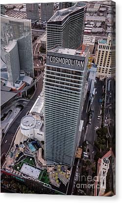 Cosmopolitan Hotel, Las Vegas Canvas Print by PhotoStock-Israel