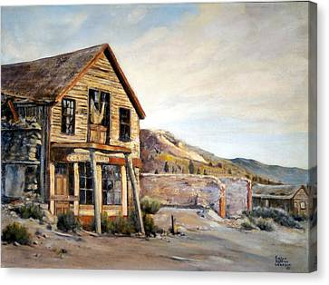 Cosmopolitan Playhouse Canvas Print by Evelyne Boynton Grierson