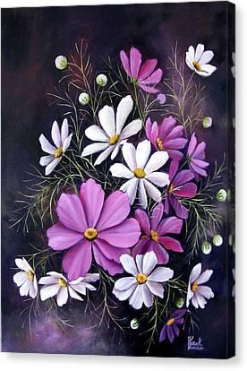 Cosmos Canvas Print by Katia Aho