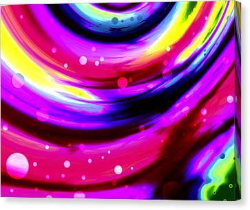 Cosmos4 Canvas Print by Alex Porter