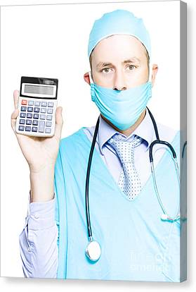 Cost Of Healthcare Canvas Print by Jorgo Photography - Wall Art Gallery
