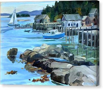 Costal Maine Canvas Print