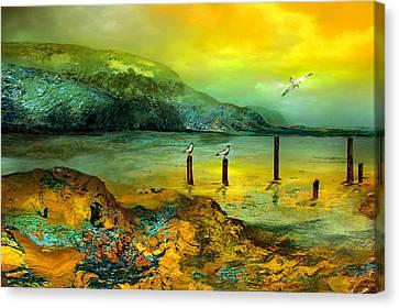 Cote D Or Canvas Print by Anne Weirich
