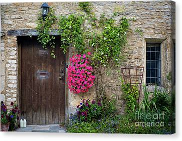 Cotswolds Milk Delivery Canvas Print by Brian Jannsen