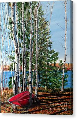 Canvas Print - Cottage Country 2 by Marilyn McNish