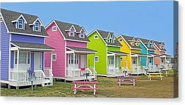 ''cottages'' Canvas Print