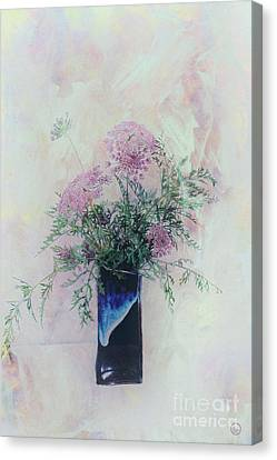 Canvas Print featuring the photograph Cotton Candy Dreams by Linda Lees