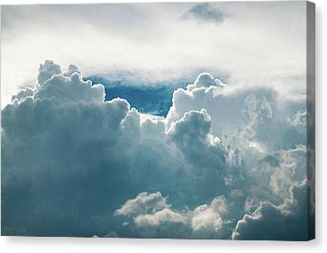 Cotton Clouds Canvas Print by Marc Wieland
