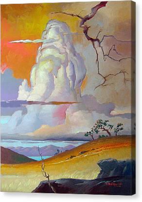 Cottonwood Clouds 3 Canvas Print