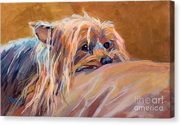 Couch Potato Canvas Print by Kimberly Santini