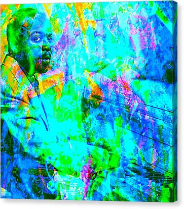 Count Basie Canvas Print by Brian Broadway