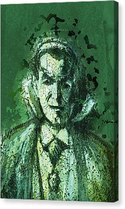 Count Dracula Canvas Print by Pamela Williams