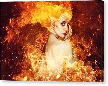 Explosion Canvas Print - Countdown by Mario Sanchez Nevado